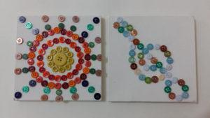 Arte com Crianças: Quadro de Botões