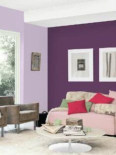purple wallpaper for bedroom walls
