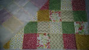 centro de mesa patchwork natal
