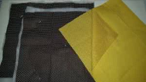 bolsa de tecido bike