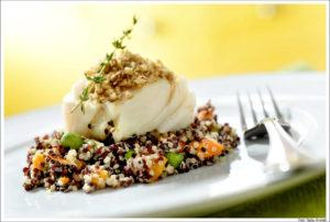 Apresentacao de pratos gourmet