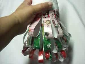 arvore de natal de isopor