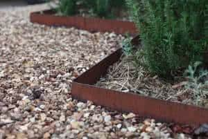 demarcador de jardim ferro