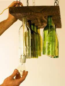 lampadas garrafas