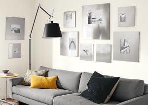 sofá quadros