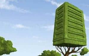 prédio árvore ecologia