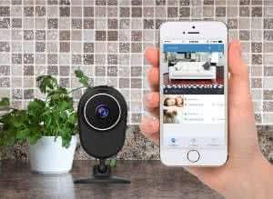 camera e software de segurança celular