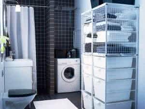 lavanderia banheiro