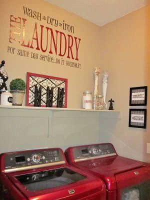 maquinas de lavar vermelhas