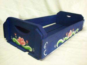 Caixote Reciclado para Vasos de Horta