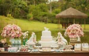 bolo de noiva casamento