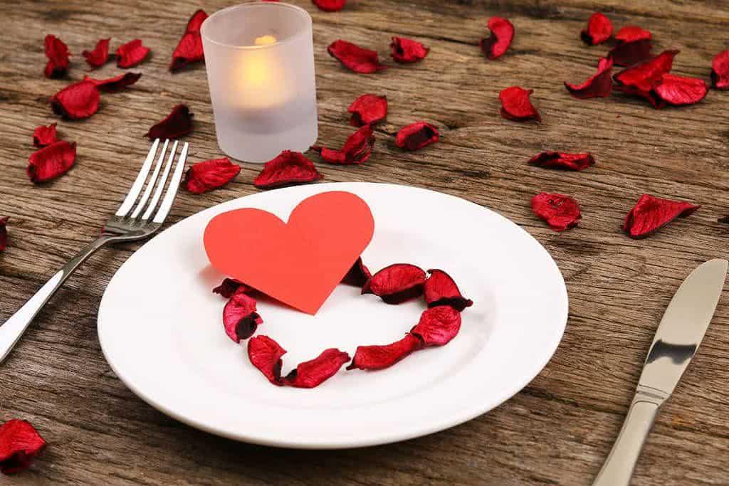 Pratos perfeitos para o jantar de namorados for Table 52 valentine s day