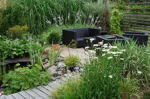 jardim sofá mesa