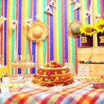 Festa de Aniversário com Temática Junina em Casa