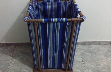 cesto de roupa pvc