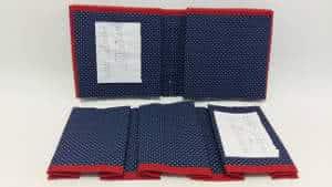 bolsa organizadora tecido