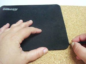 mousepad de cortiça