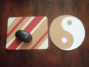 Como Fazer um Mousepad de Cortiça