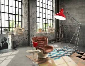 decoração industrial contemporanea