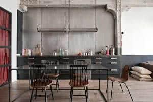 Decora o industrial como adotar o estilo for Mesas de estilo industrial