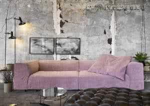 sofá sala industrial
