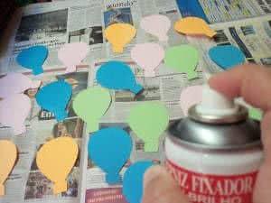 móbile balões