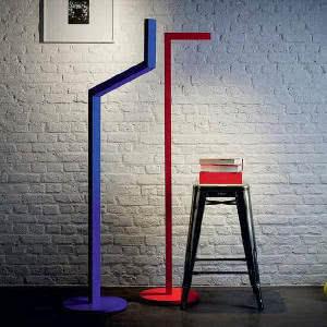 luminarias de chão coloridas