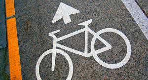 sinal bicicleta ciclovia