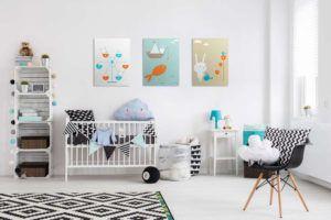 Decoração Econômica para o Quarto do Bebê