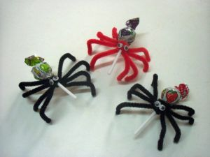 Aranha Porta-Pirulito