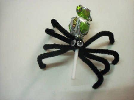 pirulito aranha