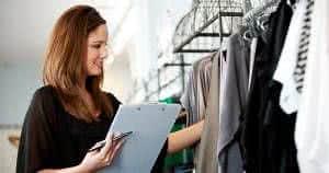 mulher roupas loja
