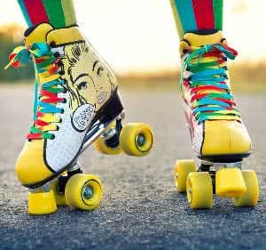 patins pop art