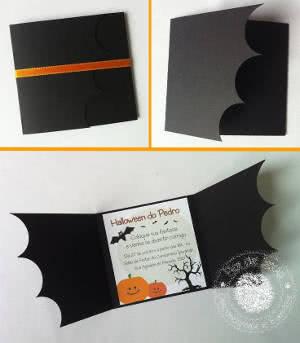 convite morcego