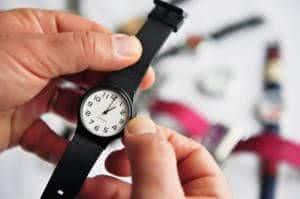 acertando relógio