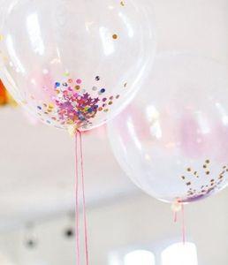 baloes transparentes