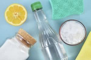 vinagre limao sal bicarbonato esponja