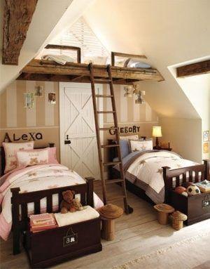 camas escada