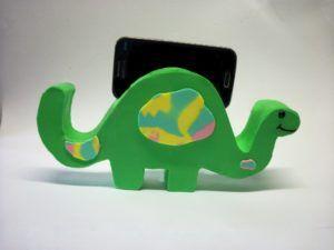 Dinossauro Porta-Celular