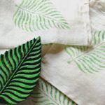 Como Pintar Tecidos Decorativos com Carimbos