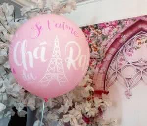 lettering balão