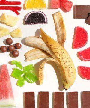 frutas doces