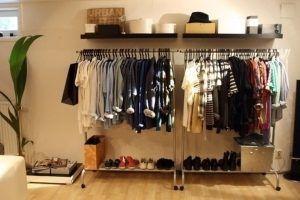 closet aberto masculino