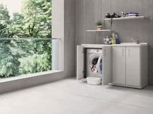 lavanderia na varanda