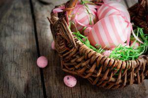 Ideias de Decoração para a Páscoa Usando Ovos Naturais