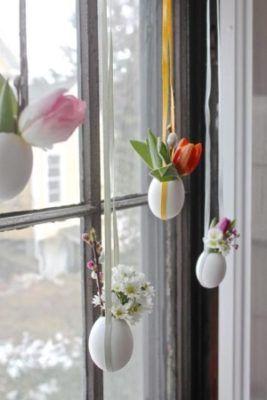 ovos suspensos decoraçao
