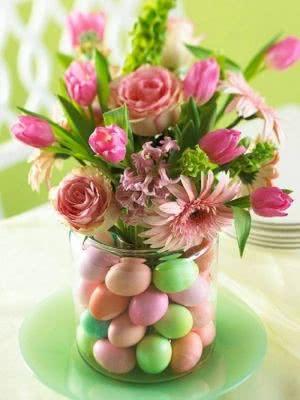 vaso decoraçao pascoa