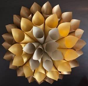 cones de papel