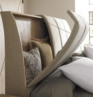 cabeceira cama multifuncional