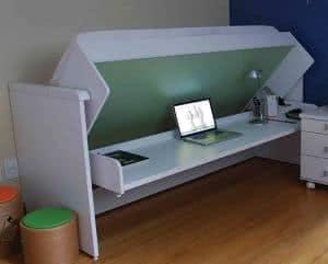 cama escrivaninha
